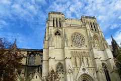 Cathedral in Paris Stock Image