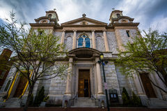 The Cathedral Parish of Saint Patrick, in downtown Harrisburg, P Royalty Free Stock Photography