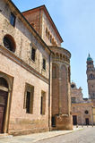 Cathedral. Parma. Emilia-Romagna. Italy. Royalty Free Stock Images