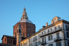 Cathedral of Pavia Stock Photo