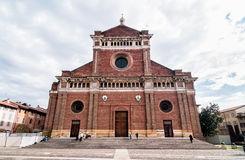 The Cathedral of Pavia, Italy Stock Photography