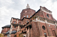 The Cathedral of Pavia, Italy Royalty Free Stock Photos
