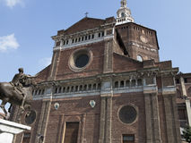 Cathedral of Pavia, Italy Royalty Free Stock Photo