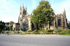 Cathedral of the Peak, Tideswell, Derbyshire. Royalty Free Stock Photography