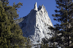 Cathedral Peak, Yosemite National Park Royalty Free Stock Photography