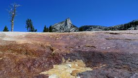 Cathedral Peak in Yosemite Park Royalty Free Stock Image