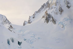 Cathedral Peaks  Glacier Stock Photography