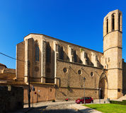 Cathedral of Pedralbes Monastery at Barcelona Royalty Free Stock Image