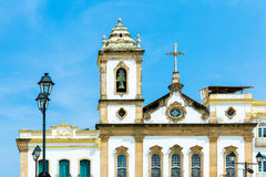 Cathedral at Pelourinho, Salvador, Bahia Royalty Free Stock Photo