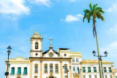 Cathedral at Pelourinho, Salvador, Bahia Royalty Free Stock Images