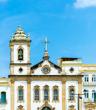 Cathedral at Pelourinho, Salvador, Bahia Royalty Free Stock Photography