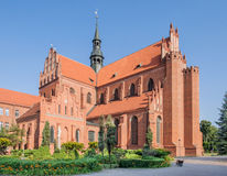 Cathedral in Pelplin, Poland Stock Image