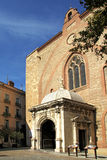 Cathedral of Perpignan, Royalty Free Stock Photos