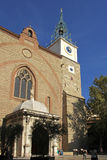 Cathedral of Perpignan, France, Royalty Free Stock Photos