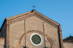 Cathedral of Pesaro Stock Image