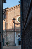 Cathedral of Pesaro Stock Photography