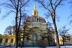 Cathedral Of The Peter And Paul Fortress Royalty Free Stock Images