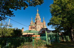 Cathedral of Peter and Pavel in Petergof Royalty Free Stock Photo