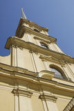 Cathedral of Petropavlovsk Fortress Royalty Free Stock Images