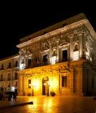 Cathedral Piazza Ortigia, Sicily Royalty Free Stock Photos