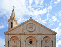 Cathedral pienza, italy Royalty Free Stock Photo
