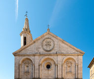Cathedral of Pienza, Tuscany Royalty Free Stock Image
