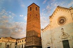 Cathedral of Pietrasanta Royalty Free Stock Photos