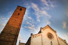 Cathedral of Pietrasanta Stock Photo