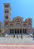 Cathedral in Piraeus Stock Images