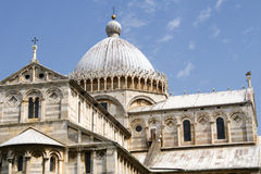 The cathedral of Pisa Stock Images