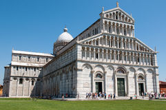 Cathedral of Pisa. Royalty Free Stock Images