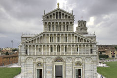 Cathedral of Pisa in HDR Royalty Free Stock Photos
