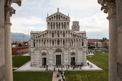 The Cathedral of Pisa Stock Photography