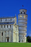 Cathedral of Pisa and Leaning Tower Royalty Free Stock Photos