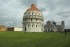 Cathedral in Pisa Stock Photography