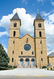 Cathedral of the Plains - St. Fidelis Stock Images