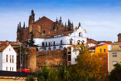 Cathedral of Plasencia Stock Photography