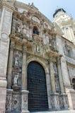 Cathedral at Plaza de Armas, Lima, Peru Royalty Free Stock Photos