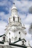 Cathedral on plaza grande quito ecuador. Cathedral on plaza grande church of el segrario quito ecuador next to palacio del gobierno Stock Images
