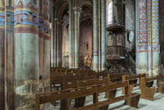 Cathedral of Poitiers Royalty Free Stock Photo