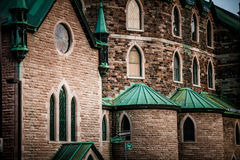 The Cathedral in the Poor Trois-Riviere Area Royalty Free Stock Photos