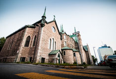 The Cathedral in the Poor Trois-Riviere Area Royalty Free Stock Photography