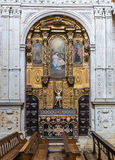 Cathedral in Porto. Interior of Se Cathedral in Porto city in Portugal Royalty Free Stock Photos