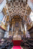 Cathedral in Porto. Nave of Se Cathedral in Porto city in Portugal Royalty Free Stock Image