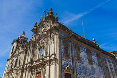 Cathedral in Porto old town - Portugal. Architecture background Royalty Free Stock Image