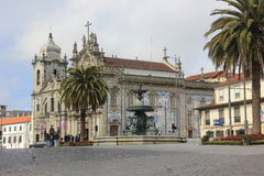 Cathedral in Porto Stock Images