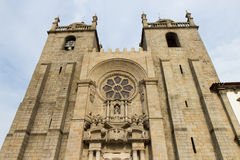 Cathedral in Porto. Porto Cathedral or Se Catedral do Porto, Portugal Royalty Free Stock Photos