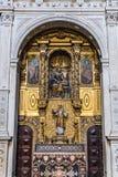 Cathedral in Porto. Side altar in Se Cathedral in Porto city in Portugal Stock Photo