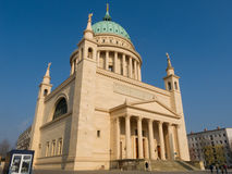 Cathedral of Potsdam Stock Photos