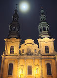 Cathedral in Poznan City Royalty Free Stock Images